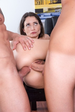 Office MILF Anal Porn