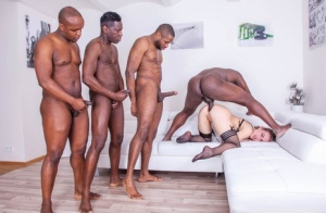 MILF Anal Gangbang Porn