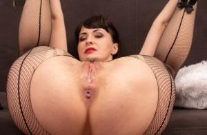 Mature Pantyhose Anal Porn
